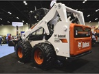 The Bobcat S650 skid-steer loader features a 74-hp Tier 4 engine.