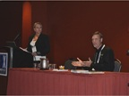 Panel sessions provided attendees with a number of educational