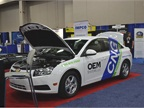 OEM Systems LLC showed its CNG conversion system technology at GFX.