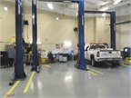 While the main facility is primarily used for heavy-duty maintenance and repair, there is also a light-duty shop within the facility.