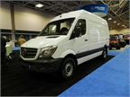 Mercedes-Benz's Sprinter van was one of several that were on