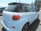 The 2014 Fiat 500L has a starting MSRP at $19,195. It can get up to 33