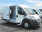 The 2014 Ram ProMaster 2500 is available in two roof heights, three