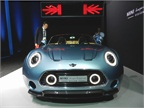 The Mini Superleggera Vision Roadster is a two-seat concept car with
