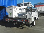 Ford F-550 upfit with an electric boom