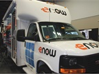 eNow displayed its solar-powered solution for powering auxiliary
