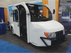 The FireFly is an electric vehicle designed for parking enforcement,