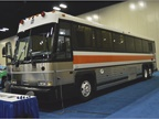 The MCI inmate security transportation vehicle is purpose-built to