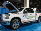 A propane autogas Ford F-150 was shown at the expo hall.