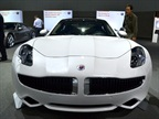 Fisker had its Karma sedan at the show.