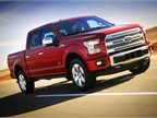 Ford's redesigned 2015 F-150 arrives with an all-aluminum body.