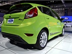 Pictured here is the hatchback version of the 2014-MY Ford Fiesta. It