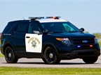 The California Highway Patrol s Ford P.I. Utility.