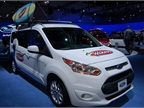 Ford Transit Connect upfitted for Wahoo s Tacos
