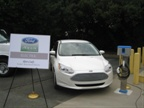 Ford showed its Focus Electric.