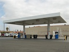 The city s fuel site dispenses unleaded gasoline and diesel.