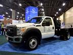 Landi Renzo brought an F-450 dedicated CNG truck with Knapheide