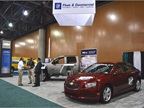 Chevrolet Cruze powered by clean diesel fuel is in the front. In the