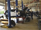The police garage services more than 1,350 units, including more than