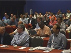 Attendees took advantage of the wide range of educational