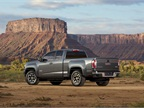 The truck will compete with the Toyota Tacoma and Nissan Frontier.