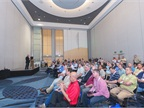 Attendees could choose from 14 educational sessions at the show.