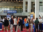 Attendees were able to network with other fleet professionals, as well as vendors on the show floor.<br />Photo by Gary Wien