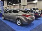 Hyundai had a number of models at GFX, including its Elantra sedan.