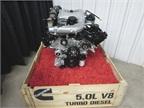 The Nissan Titan XD is powered by a 5.0L Cummins V-8 Turbo Diesel,