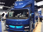 Mitsubishi Fuso will offer the eCanter battery-powered cabover.