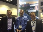 (l. to r.) Kevin Moore, Telogis  VP of OEM sales; Otto Schmid,