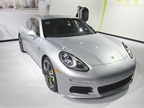 The Porsche Panamera S e-hybrid is a supercharged V-6 PHEV with an