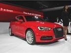 The Audi A3 Sportback e-Tron gasoline electric plug-in hybrid will be