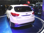 The Tucson Fuel Cell vehicle will offer a range of up to 300 miles,