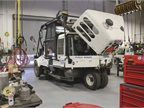 The city operates a fleet of 20 Elgin Pelican sweepers that have been