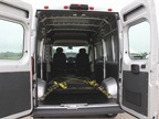 The ProMaster 1500 offers 283 cubic feet of cargo volume.