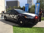 The Police Responder Hybrid is one of two hybrid police vehicles that