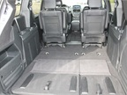 The van provides 143.8 square feet with the third-row seats folded