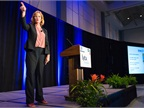 Keynote Speaker Tammy Rimes talked to attendees about becoming  best