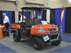 Kubota brought an RTV utility vehicle to the event.