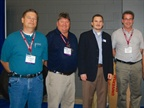 Raffle winners with Government Fleet Publisher Eric Bearly (center).