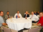 A networking roundtable offered on June 22 gave attendees a chance to