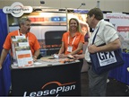 LeasePlan USA was on hand to talk with attendees.