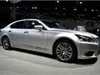 Lexus brought a LS 600h hybrid to the show.