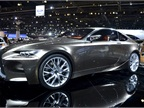 Lexus showed its LF-LC hybrid concept car at the show.