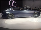 Lexus LF-FC concept luxury car