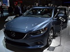 Mazda brought its all-new 2014-MY Mazda6 sedan to the LA Auto Show.