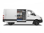 Mercedes-Benz offers the full-size Sprinter van for 2018 in five