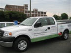 ROUSH CleanTech also had a propane-fueled F-150 at the signing.