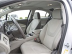 While the Volt s rear seating isn t spacious, front seating provides